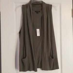 Dark Green Sweater Vest